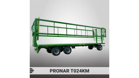 PRONAR rulonų transportavimo priekabos
