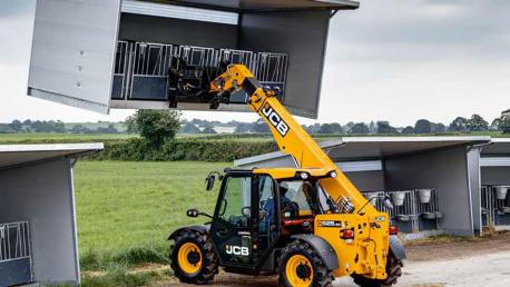 JCB AGRI 516-40 ir 525-60 AGRI / AGRI PLUS teleskopiniai krautuvai