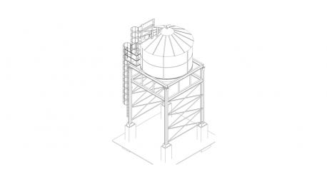 ARAJ realizacje grūdų bokštai
