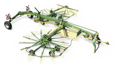 Swadro TS ir TS Twin dviejų rotorių formuojantys šoninę sąvalką grėbliai