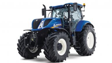 New Holland T7 serijos traktoriai