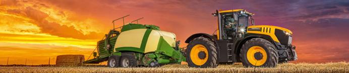JCB traktoriai