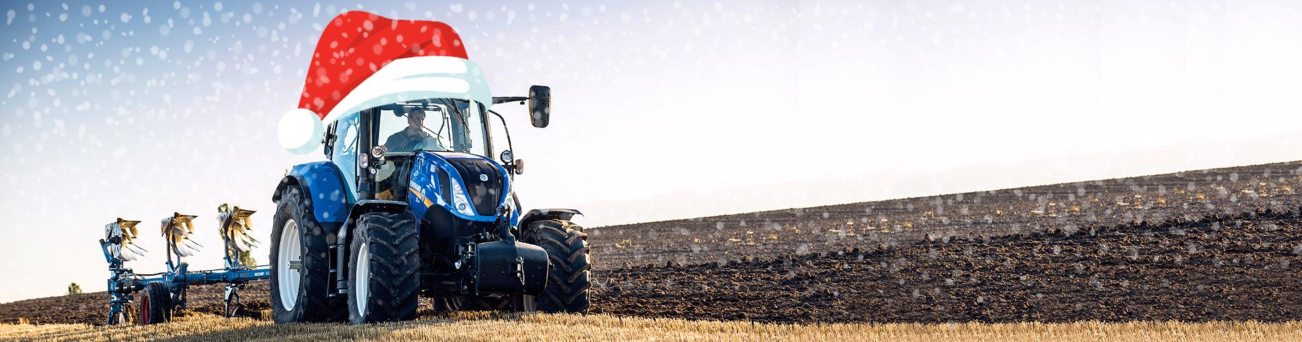 Specialus Kalėdinis NEW HOLLAND traktorių pasiūlymas!