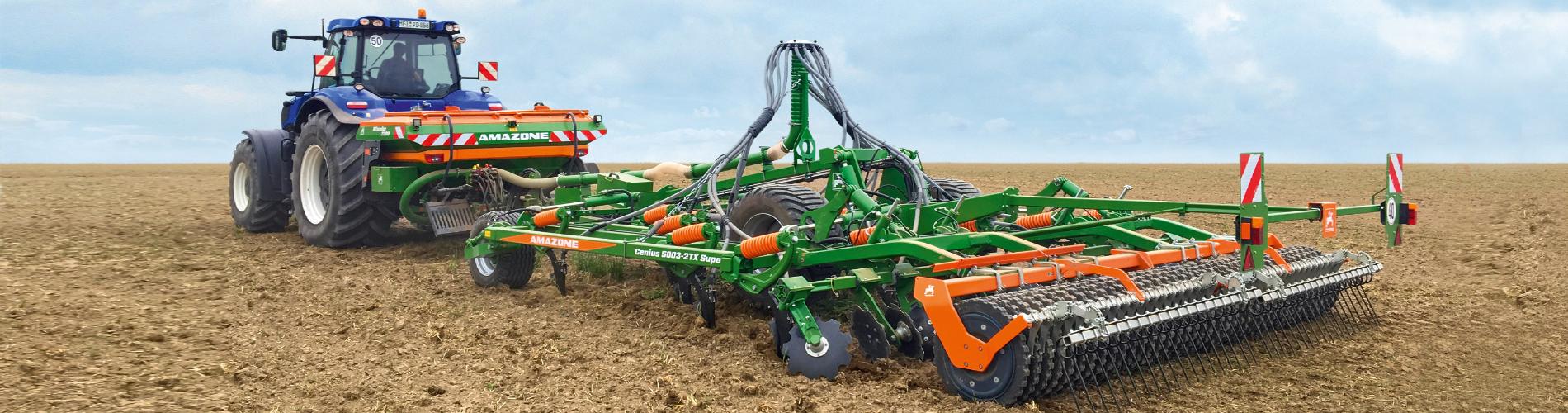 AMAZONE žemės ūkio technika šių metų rudens darbams