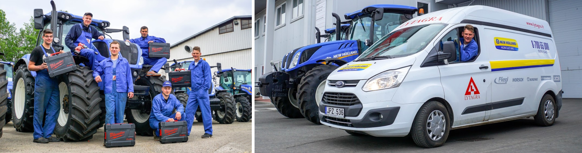 Žemės ūkio technikos serviso paslaugos rudens – žiemos laikotarpiu